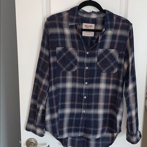 Mossimo Supply Co. Flannel Button Down Shirt